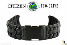 Citizen Eco-Drive JY0005-50E Black Ion Plated Stainless Steel Watch Band S053030
