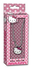 HELLO KITTY NECKLACE WITH PENDANT -GIRLS ACCESSORIES-IDEAL LITTLE GIFT