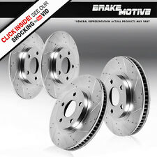 Front 297 mm and Rear 270 mm Brake Rotors CHRYSLER 300M CONCORDE DODGE INTREPID