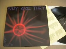 WHY ARE THEY LIQUID LIGHTS 1992 LP ITALIAN METAL  BAND