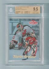 MARTIN BRODEUR 1999/00 TOPPS GOLD LABEL CLASS 2 RED # 50/50 BGS 9.5 GEM MINT