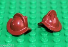 Lego 2x Reddish Brown Minifig, Headgear Helmet Conquistador NEW!!!