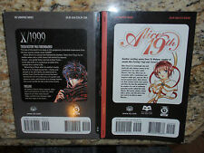 X/1999 Clamp & Alice 19th Manga Graphic Novels Volumes 1  Shojo Editions