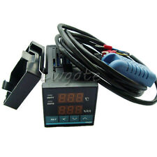 Intelligent 100-240V Digital Temperature & Humidity Controller With Probe Sensor