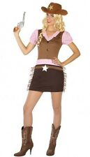 Déguisement Femme Cowgirl M/L 40/42 Costume Adulte Country Sherif Sexy