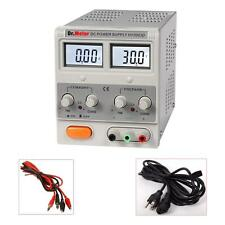 New Dr. Meter 30V 3A Adjustable Variable DC Power Supply