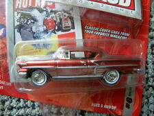 1958 CHEVY IMPALA  #6      2004 JOHNNY LIGHTNING HOT ROD MAGAZINE  1:64 DIE-CAST