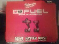 NEW Milwaukee 2897-22 M18 FUEL Brushless 18V  RedLithium-XC 5.0 Combo Kit