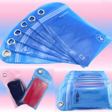 5Pcs Mobile Phone Waterproof Bag  For iPhone Pure Color  Plastic  Hot Randomly