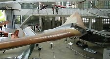 Horten H.IV Tailless Flying Wing Glider Aircraft Mahogany Wood Model Replica BIG