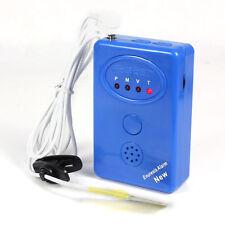 Azul adulto bebé Orinarse en la Cama Enuresis Orina cama Húmedo Alarma+Sensor