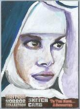 British Horror Collection Sketch Card created by Jason Brower [ 1 ]