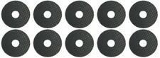 "Stick-on 10 X 24mm Self-Adhesive Rubber Washer 1/4"" ideal for Tripod / Camera Fl"