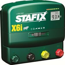 Stafix X6i Energizer 60 Mile Fence Charger. AC/DC Powered Includes Remote!