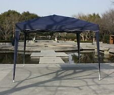 10'x10' Instant Navy POP UP Outdoor Canopy Party Wedding Portable Tent Gazebo