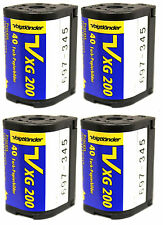4 Rolls of Voigtlander VXG APS 200 40 Films ISO 200 Cold Stored 100% Guarantee!!
