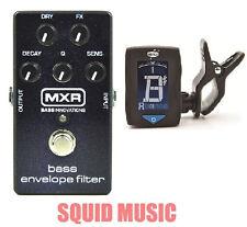 MXR Dunlop M82 Bass Envelope Filter Effects Pedal M-82 ( FREE GUITAR TUNER )
