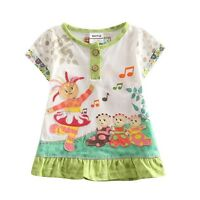 Upsy Daisy In The Night Garden Girls 100% Cotton Long Top (Only 4-5Y left)