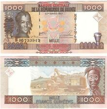 Guinea 1000 Francs 2006 P-40 NEUF UNC Uncirculated Banknote