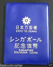 Singapore 1970 Osaka Expo Uncirculated Coin set 1ct - $1
