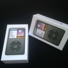 "Black Original NEW ""Packaging Box Only"" For iPod Classic 7th Generation 120GB"