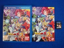 PS VITA DRAGONBALL Z Battle of Z Dragon Ball Z Game Playstation PAL UK PSVITA