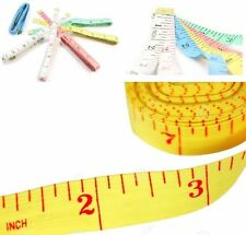"""3 PC 60"""" 1.5M SEWING TAILOR SOFT FLAT FABRIC TAPE MEASURE MEASURING TAPES NEW"""