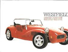WESTFIELD SE AND SEI KIT CAR BROCHURE PLUS PRICES 1993