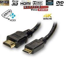 Mini HDMI Type C zu HDMI A Kabelleine V1.4 Hohe Geschwindigkeit Mit Ethernet