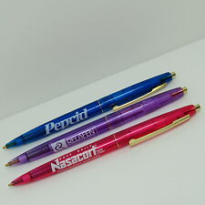 Lot of 3 Translucent Drug Rep Pharmaceutical BIC Pens PEPCID NASACORT RELAFEN