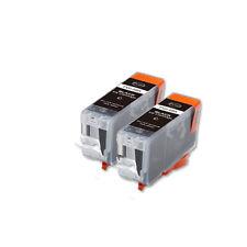 2 BLACK Replacement Printer Ink for PGI-5 Canon MP610 MP830 MX850 MP600 MX700
