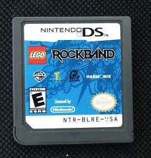 LEGO Rock Band DSi DS Authentic Cartridge Only US English Version