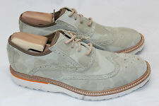 NEW Mens Rockport Union Street Wingtip Oxfords - Desert Camo / Beige - 9 M (Q59)