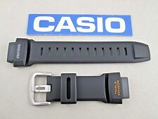 Genuine Casio ProTrek PRG-550 PRG-550-1A4 watch band black resin orange letters