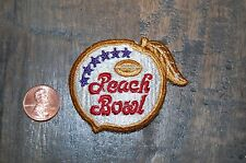 Peach Bowl 1973-1978 Logo Bowl Game Patch College