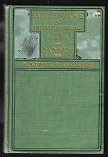 LYRICS OF LOVE of Hearth & Home and Field and Garden / Margaret E. Sangster 1901