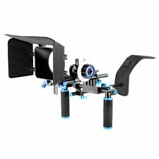 Neewer DSLR Rig SET MOVIE FILM KIT rendendo sistema, includere Spalla Mount seguire