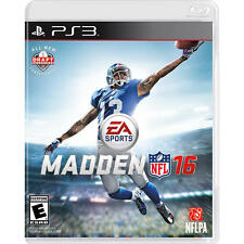 Madden NFL 16 - PlayStation 3 - BRAND NEW - FREE SHIPPING