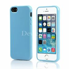 New for Apple iPhone 5S SE Silicone Case Soft Gel Cover Jelly Bumper Rubber Skin