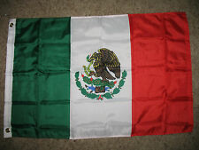 2x3 Mexico Flag Super Poly 2'x3' House Banner Brass Grommets
