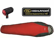 HIGHLANDER SCOTLAND PAC TEC 150 SLEEPING BAG (DOWN TYPE) BREATHABLE RIPSTOP -10