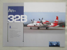 2000'S DOCUMENT RECTO VERSO AVIANT ANTONOV AN-32B LIGHT TRANSPORT AIRCRAFT
