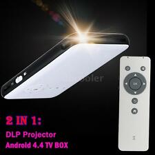Portable Mini LED 1080P DLP Projector+Android TV BOX for Iphone Samsung IOS 9D1S