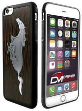 Cell Phone Cases Covers Skin for Apple iPhone 6 plus Mustang Black Walnut Metal