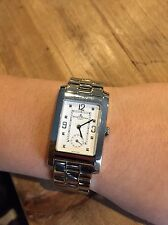 Baume and Mercier Mens Rectangular Watch