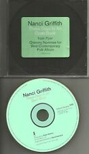 NANCI GRIFFITH These Days In an Open Book PROMO Radio DJ CD single 1995 USA