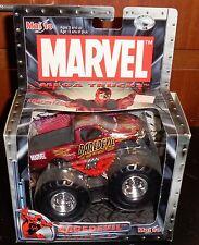 MAISTO MARVEL MEGA TRUCKS Daredevil Monster Truck Misb New Motorized 2002