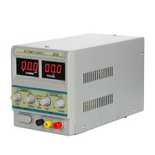 30V 5A Precision Variable DC Power Supply Digital Adjustable Regulated Lab Grade