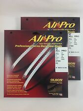"Olson All-Pro Band Saw Blades 142"" x 1/2"" 3TPI for Rikon 10-340, 10-345 & others"