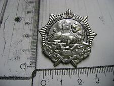 Silberfarbendes Emblem Zierrat Wappen Kolonien Deutsch-Südwest DSWA